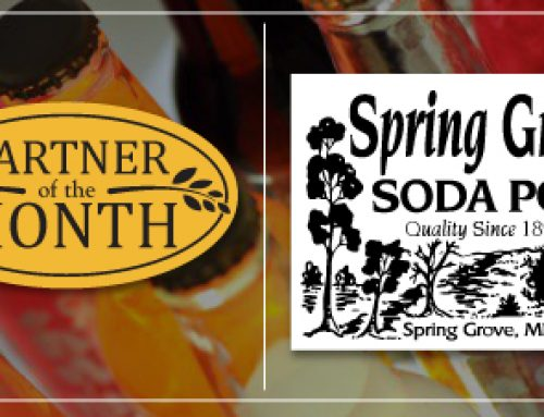 PARTNER OF THE MONTH: Spring Grove Soda Pop