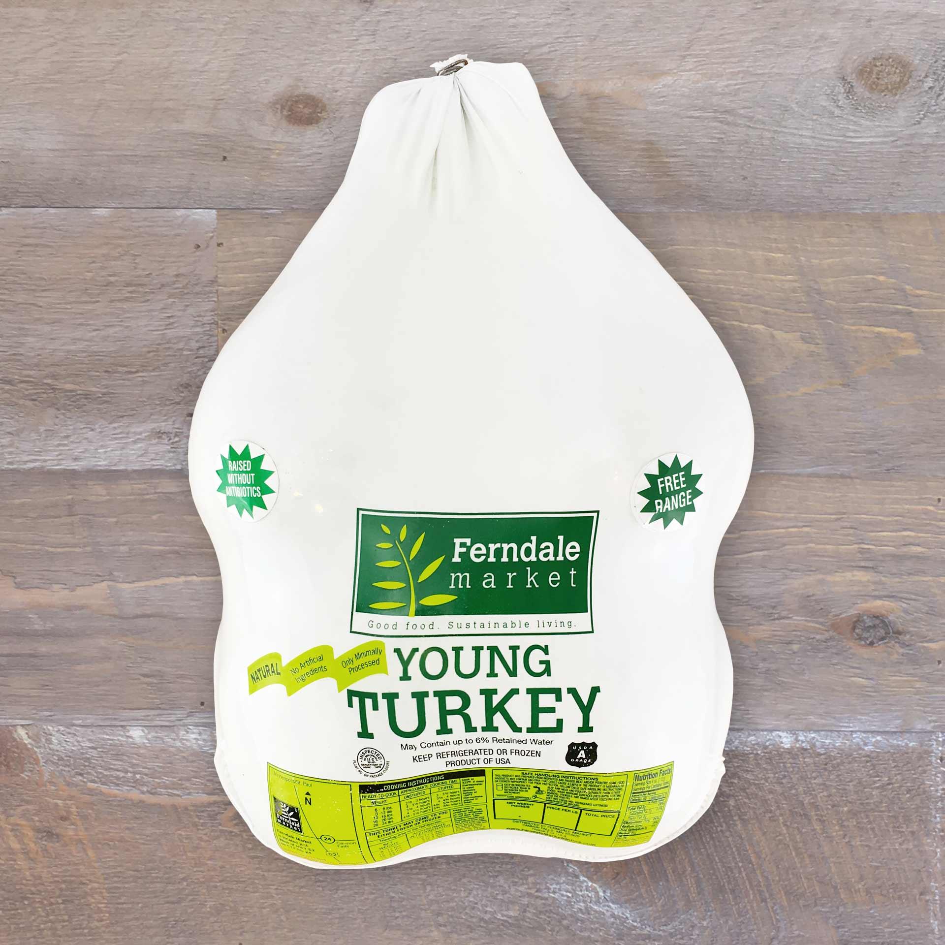 Frozen Whole Turkey | Ferndale Market