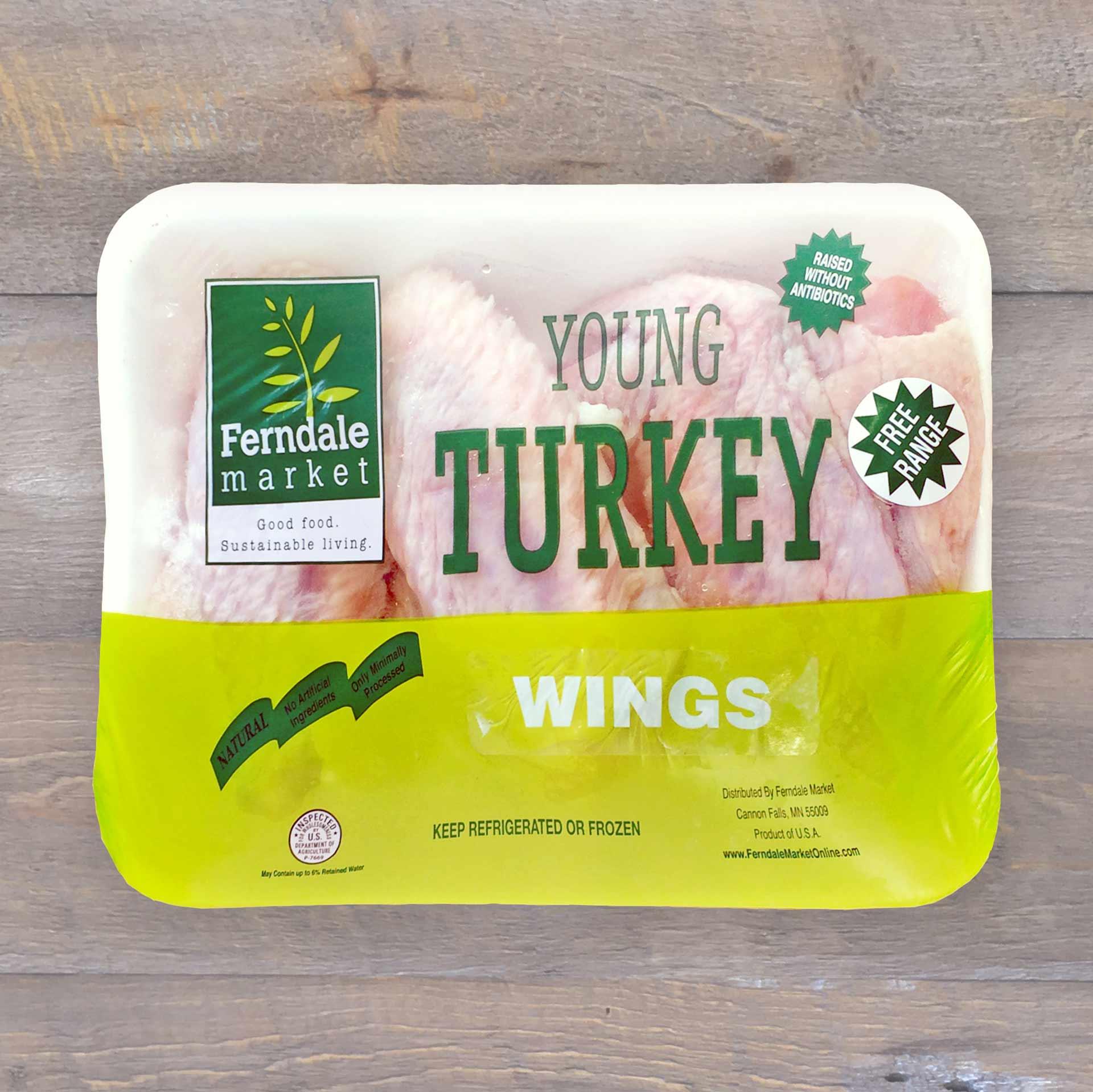 Turkey Wings Traypack   Ferndale Market