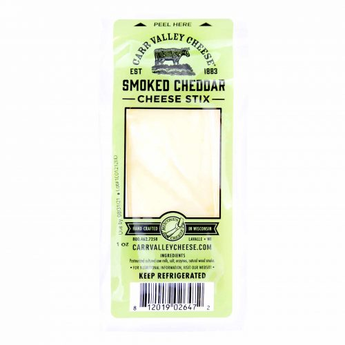 Carr Valley Cheese Smoked Cheddar Cheese Stix