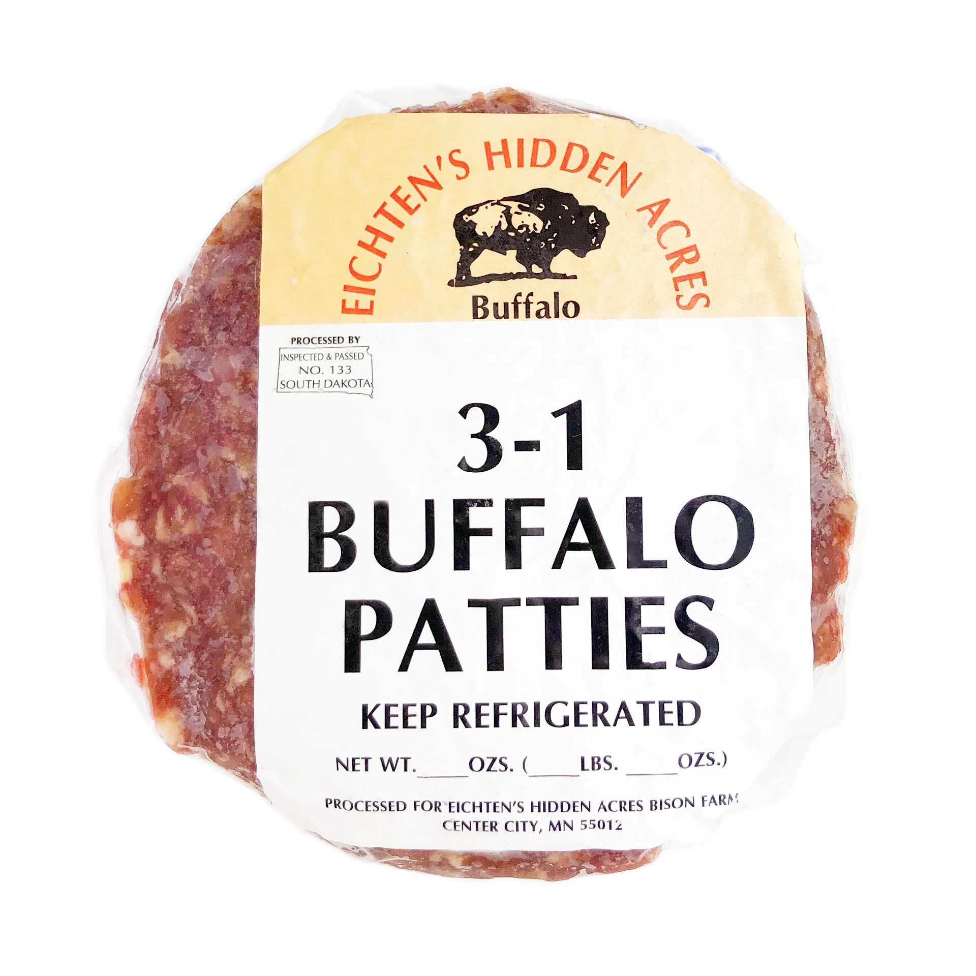 Eichten's Bison Burger Patties
