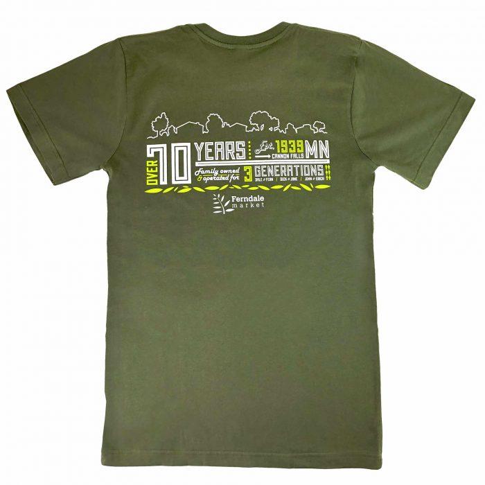Ferndale Market Adult Tshirt Back