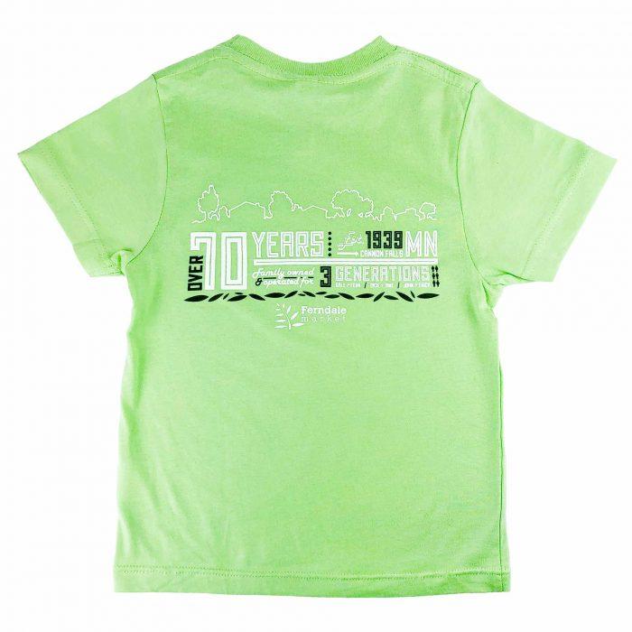 Ferndale Market Tshirt Kids Back
