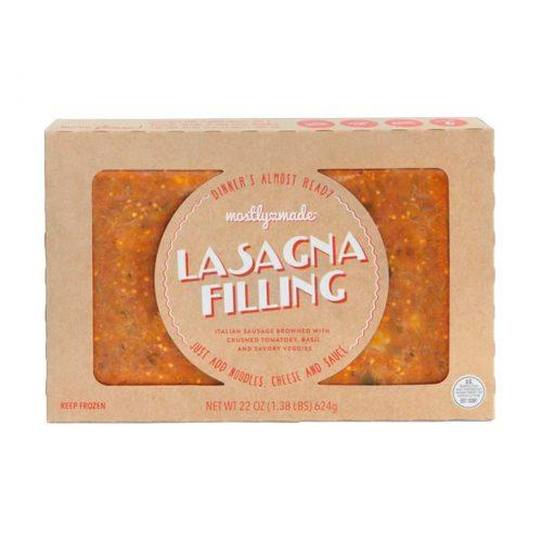 Mostly Made Lasagna Filling