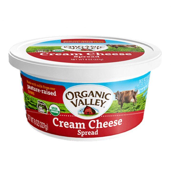 Organic Valley Cream Cheese Tub