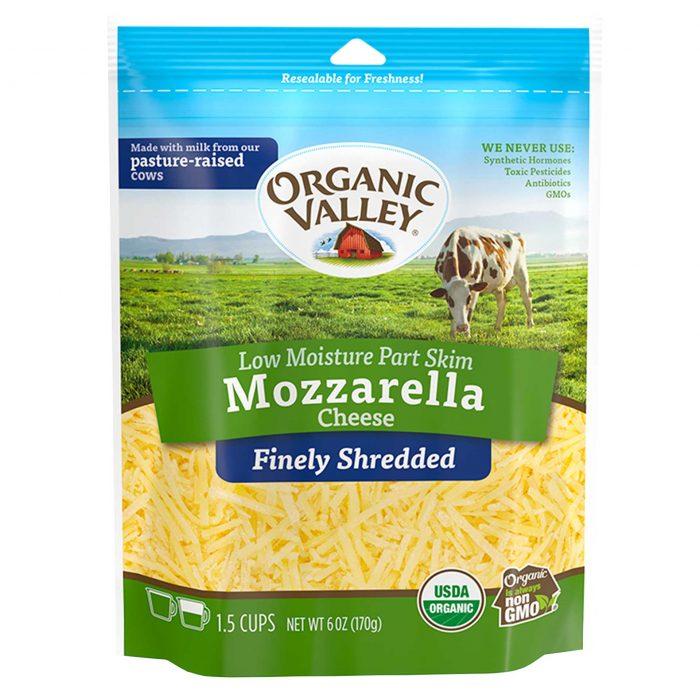 Organic Valley Mozzarella Shredded Cheese