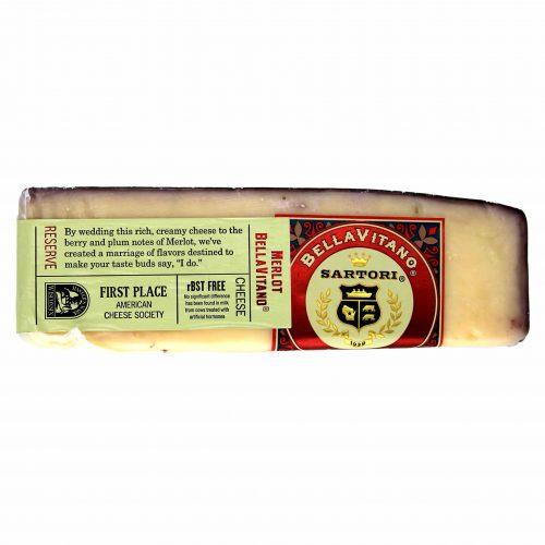 Sartori Merlot Bellavitano Cheese