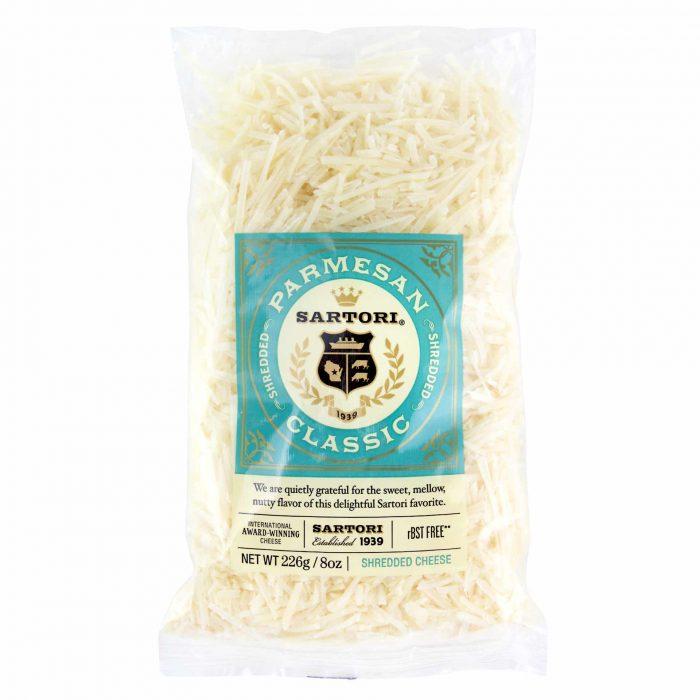 Sartori Shredded Parmesan Cheese