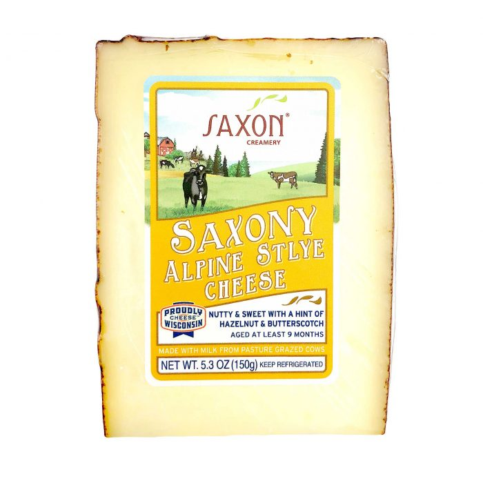 Saxon Creamery Alpine Style Cheese