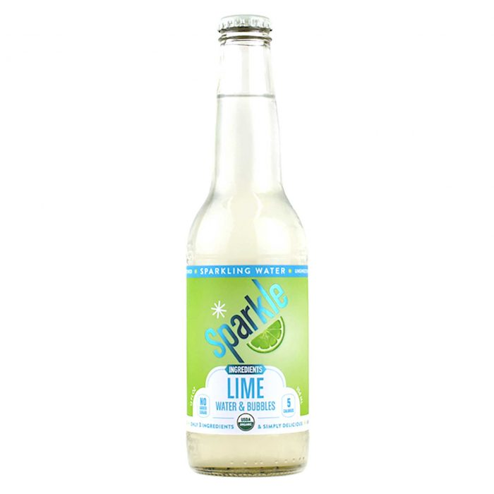 Sparkle Lime Sparkling Water
