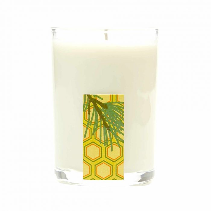 SunLeaf Candle Olibanum Spruce