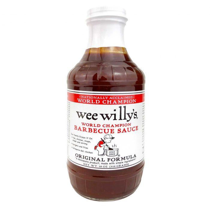 Wee Willys Original BBQ Sauce
