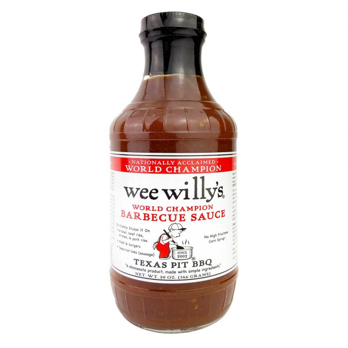 Wee Willys Texas Pit BBQ Sauce