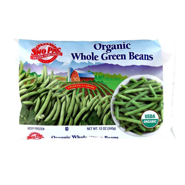 SnoPac Organic Whole Green Beans