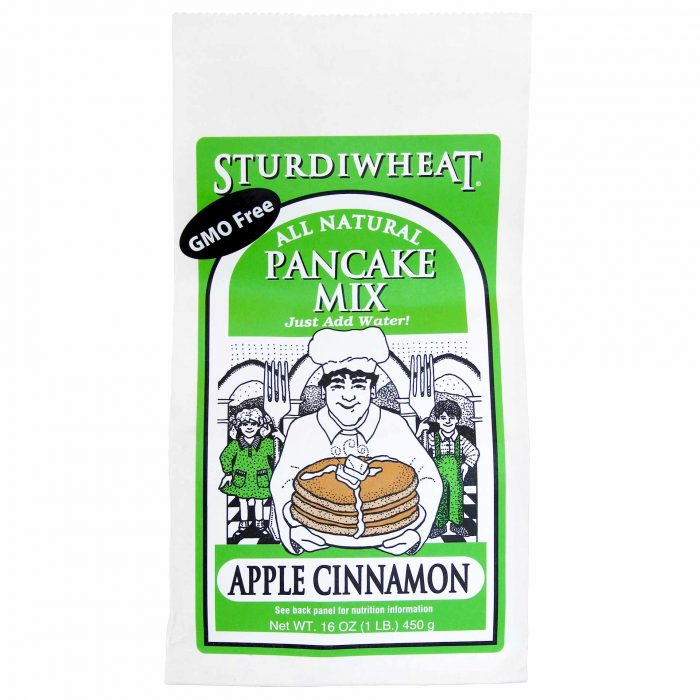 Strudiwheat Apple Cinnamon Panckake