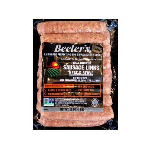 Beelers Breakfast Sausage Links