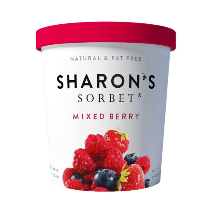 Sharons Sorbet Mixed Berry Ice Cream