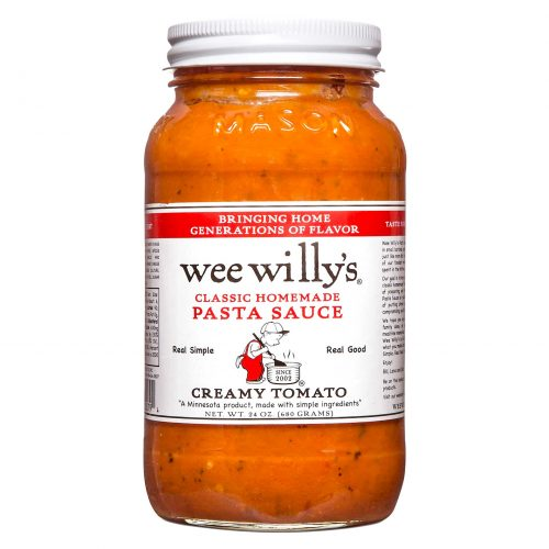 Wee Willys Creamy Tomato Pasta Sauce