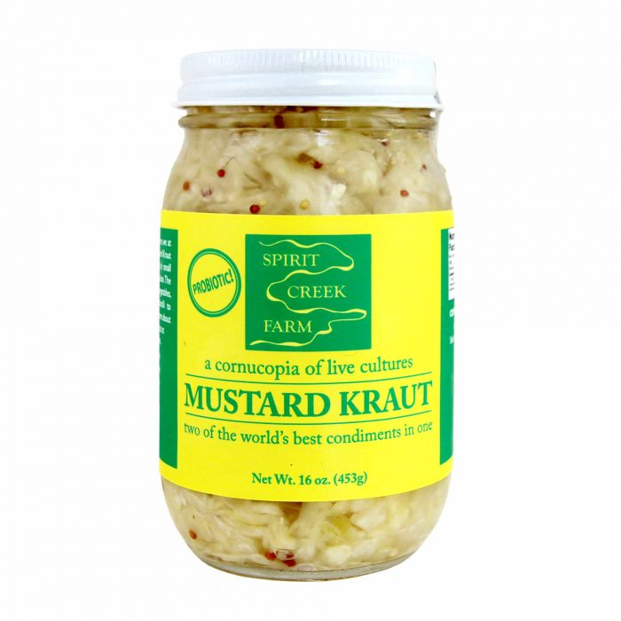 Spirit Creek Farm Mustard Kraut