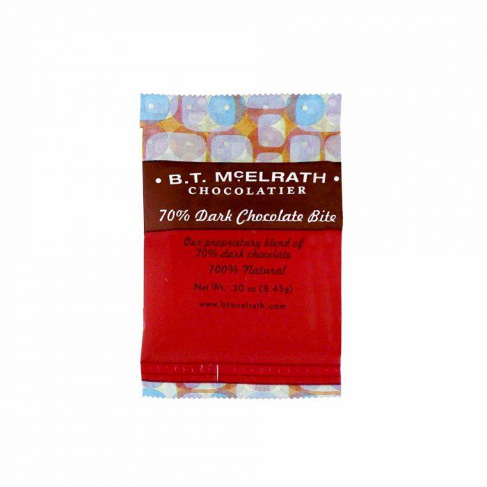 BT McElrath 70 Dark Chocolate Bite