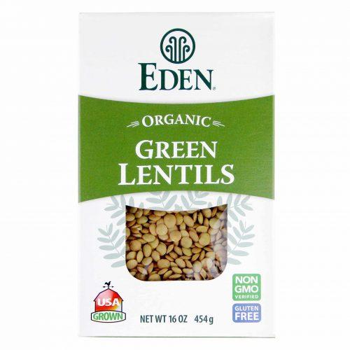 Eden Organic Green Lentils