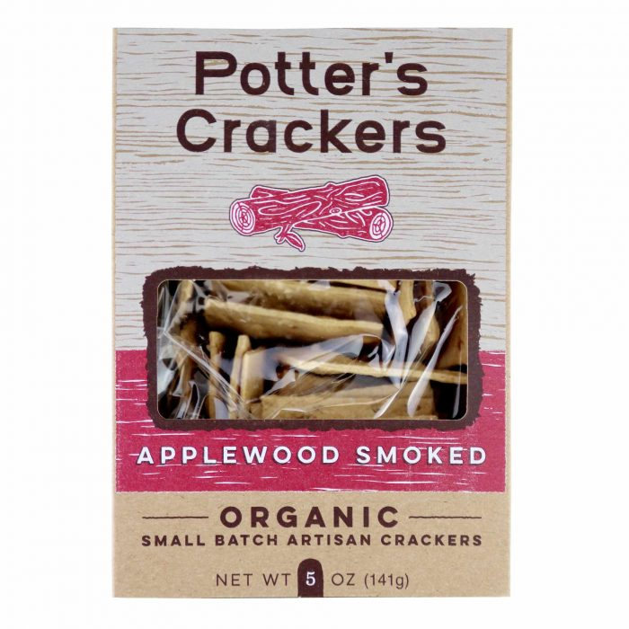 Potters Crackers Applewood Smoked Crackers