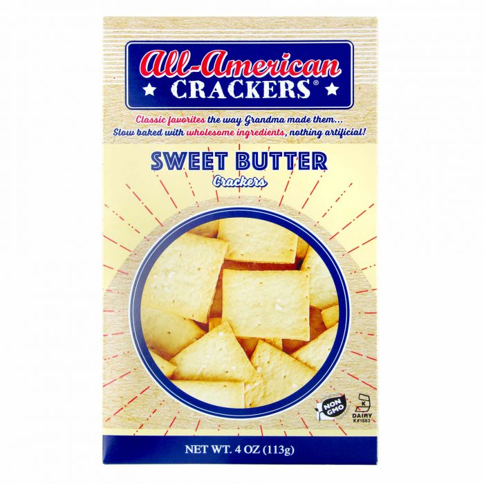 All American Sweet Butter Crackers