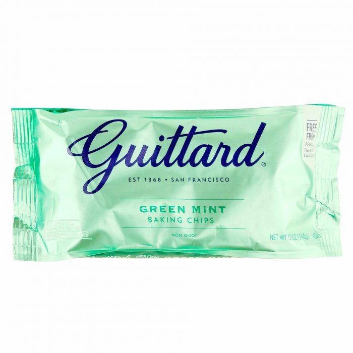 Guittard Green Mint Baking Chips