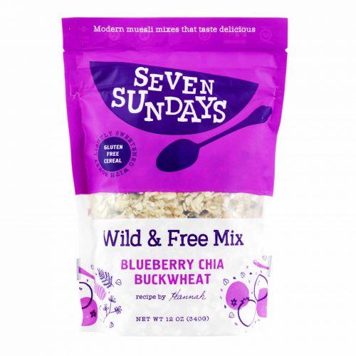 Seven Sundays Muesli Wild Free Blueberry Chia Buckwheat Mix