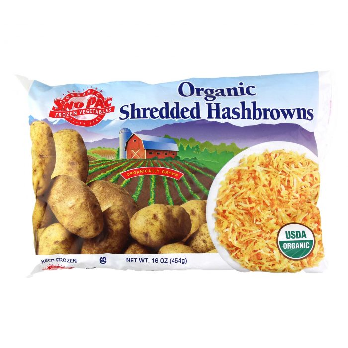 Sno Pac Organic Shredded Hashbrowns