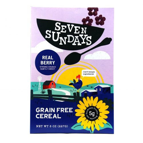 Seven Sundays Real Berry Breakfast Cereal
