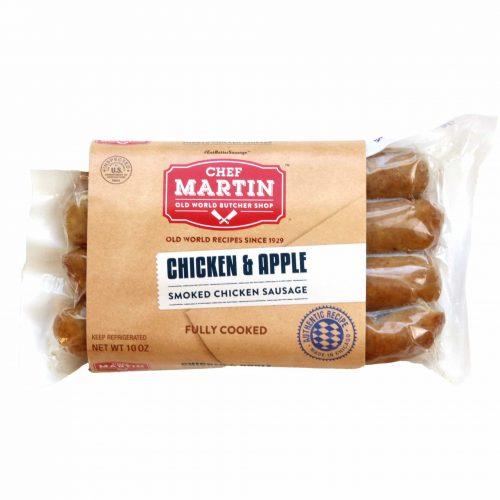 Chef Martin Chicken Apple Smoked Chicken Sausage